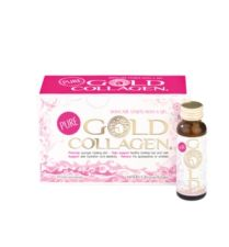 PURE GOLD COLLAGEN 500 ML (10 FRASCOS X 50ML)