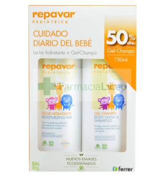 REPAVAR PEDIATRICA LECHE + GEL