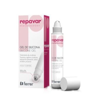 REPAVAR REG GEL DE SILICONA ROLL ON 20 ML