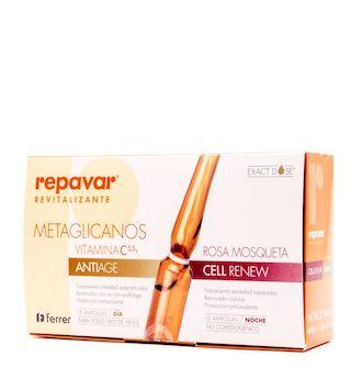 REPAVAR REVITALIZANTE AMPOLLAS ANTI-AGE + CELLRE 30 AMP