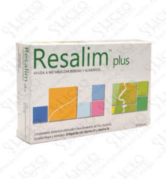 RESALIM PLUS 4 CAPSULAS PACK POCKETT