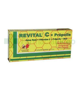 REVITAL C PROPOLIS AMPOLLA BEBIBLE 20 AMPOLLAS