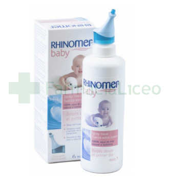 RHINOMER BABY LIMPIEZA NASAL FUERZA EXTRA SUAVE 115 ML