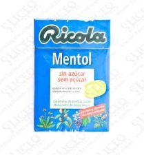 RICOLA CARAMELO MENTOL