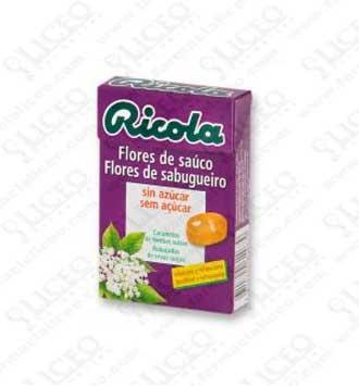 RICOLA CARAMELO SAUCO 50 GR