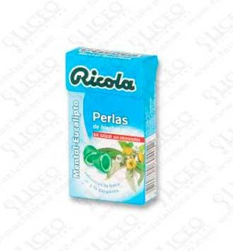 RICOLA PERLAS MENTOL- EUCALIPTUS