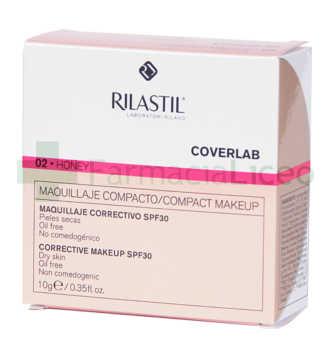 RILASTIL COVERLAB MAQ COMPACTO SPF 30 DRY HONEY