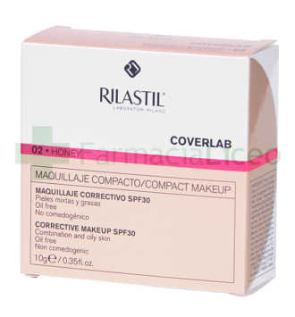 RILASTIL COVERLAB MAQ COMPACTO SPF 30 NM HONEY