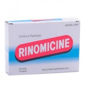 RINOMICINE SOBRES 10 SOBRES POLVO SUSPENSION ORAL