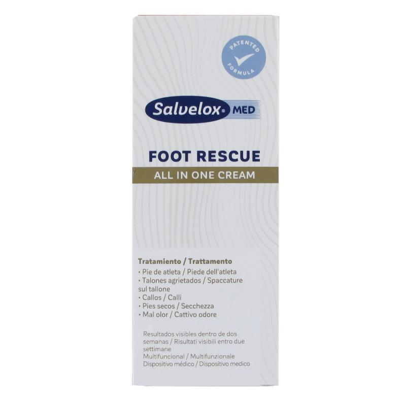 SALVELOX MED FOOT RESCUE CREMA PIES 100 ML