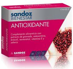 SANDOZ BIENESTAR ANTIOXID 30 CAPSULAS
