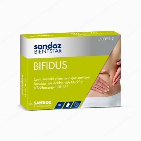 SANDOZ BIENESTAR BIFIDUS 10 SOBRES