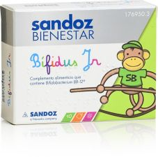 SANDOZ BIENESTAR BIFIDUS JR 10 SOBRES