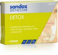 SANDOZ BIENESTAR DETOX 30 CAPS