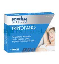 SANDOZ BIENESTAR TRIPTOFANO 30 CAPSULAS