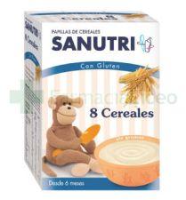 SANUTRI PAPILLA 8 CEREALES 600 G