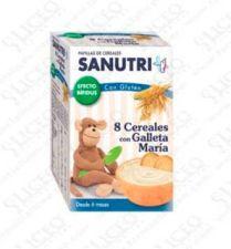 SANUTRI PAPILLA 8 CEREALES CON GALLETA MARIA EFE