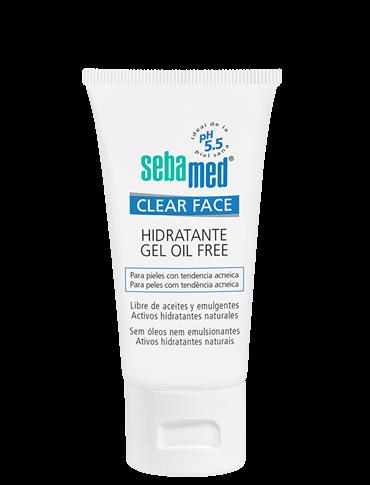 SEBAMED CLEAR FACE GEL HIDRATANTE OIL FREE 50 ML
