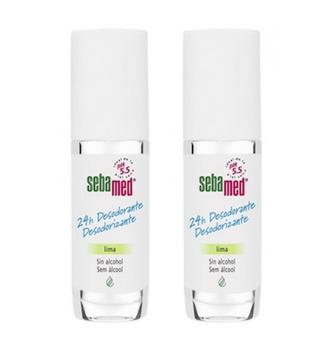 SEBAMED DUPLO DESODORANTE 24 H ROLL ON LIMA