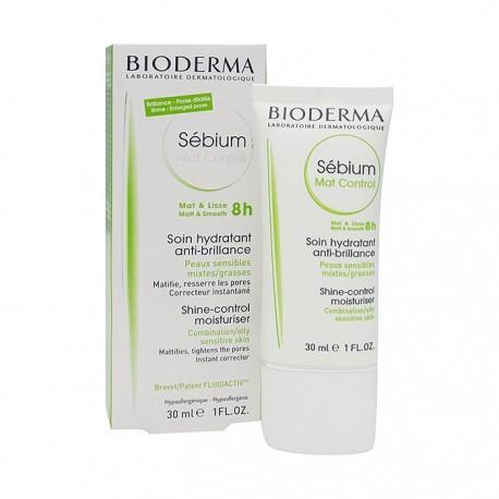 SEBIUM MAT CONTROL 8 HORAS BIODERMA 30 ML