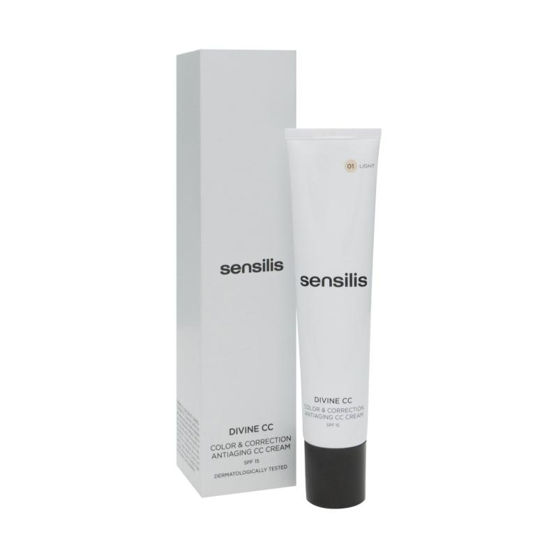SENSILIS DIVINE CC COLOR & CORRECTION ANTIAGING LIGHT 40 ML