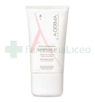 SENSIPHASE AR CREMA ANTI-ROJECES SPF 15 A-DERMA 40 ML