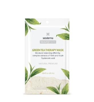 SESDERMA BEAUTY TREATS GREEN TEA THERAPY MASK