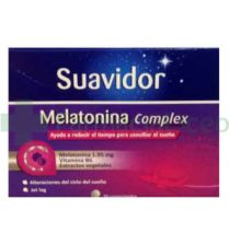 SUAVIDOR MELATONINA 30 COMP