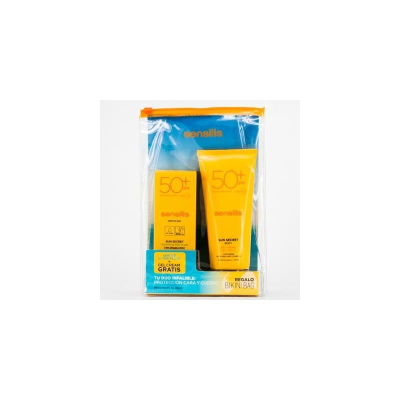 SUN SECRET PACK SPF50+ GEL CREMA BODY + WAT FLUI