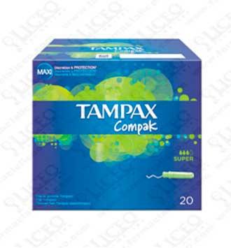 TAMPAX COMPAK SUPER 20 UNIDADES