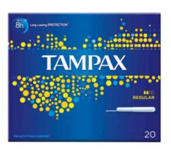 TAMPAX REGULAR 20 UNI