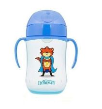 TAZA EDUCATIVA DR BROWNS NATURAL FLOW + 12 M 270 ML