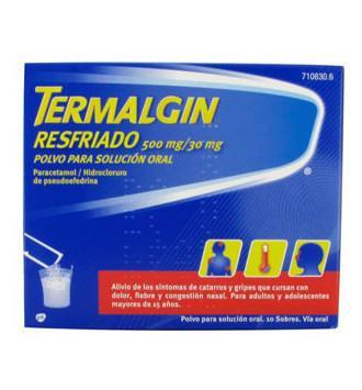 termalgin y alcohol