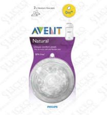 TETINA NATURAL AVENT PHILIPS RECIEN NACIDO + 0 M