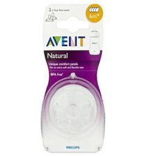 TETINA NATURAL FLUJO MEDIO AVENT PHILIPS RECIEN