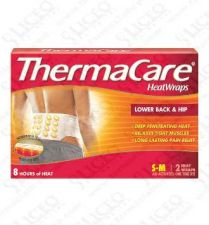 THERMACARE  LUMBAR Y CADERA PARCHES TERMICOS 2UN