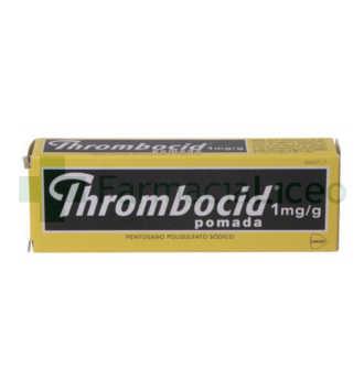 THROMBOCID 0.1% POMADA 1 TUBO 30 G