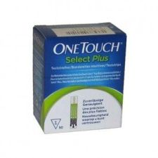 TIRAS REACTIVAS GLUCEMIA ONETOUCH SELECT PLUS 1