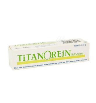 TITANOREIN LIDOCAINA CREMA 20