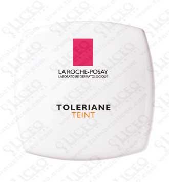TOLERIANE FONDO DE TONO CORRECTOR COMPACTO LA ROCHE POSAY BEIGE CLARO 9 GR