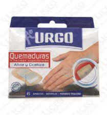 URGO QUEMADURA HIDROCOLOIDE 6 U