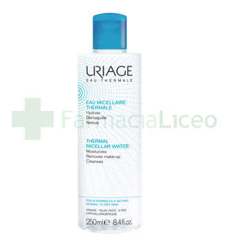 URIAGE AGUA MICELAR PIELES NORMALES SECAS 500 ML