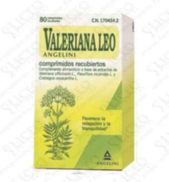 VALERIANA LEO 80 COMPRIMIDOS RECUBIERTOS