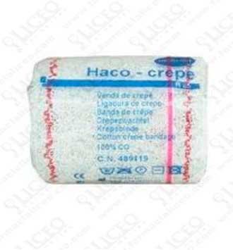 VENDA ELASTICA CREPE HACO-CREPE R-85 10 M X 10 CM