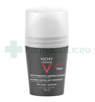VICHY HOMME DESODORANTE REGULACION INTENSA 50 ML