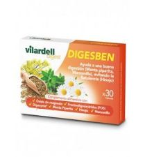 VILARDELL DIGEST DIGESBEN 30 CAPS