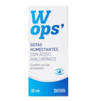 WOPS GOTAS HUMECTANTES C/ AC HIALURONICO 10 ML