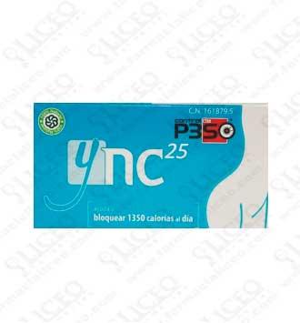 YNC 25 15 CÁPSULAS